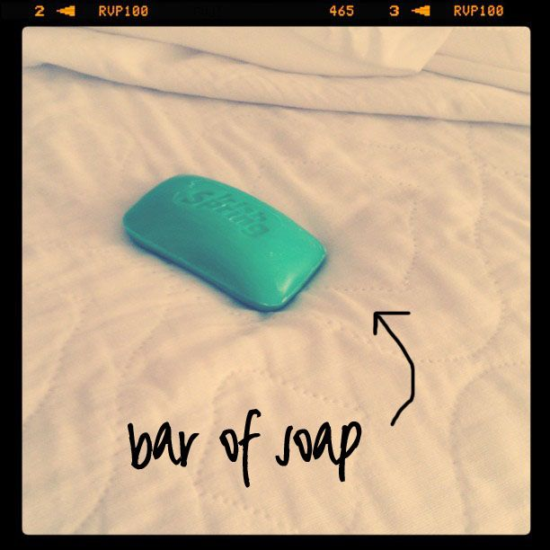 Amazing remedy for Restless legs and sleeplessness , just a bar of soap near your feet at night in bed