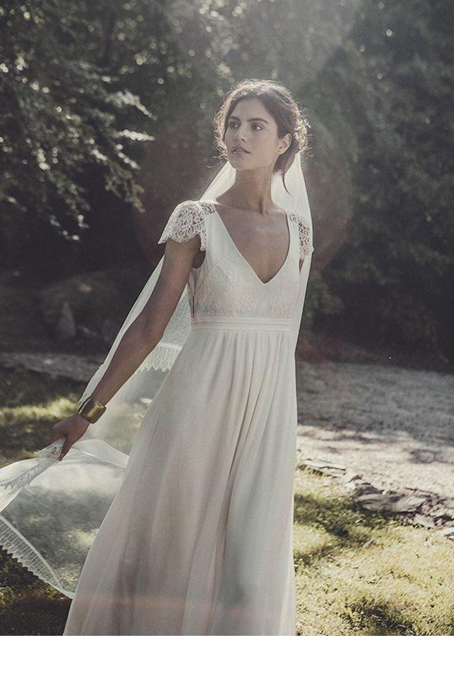 La fiancée du panda robe mariée bohème