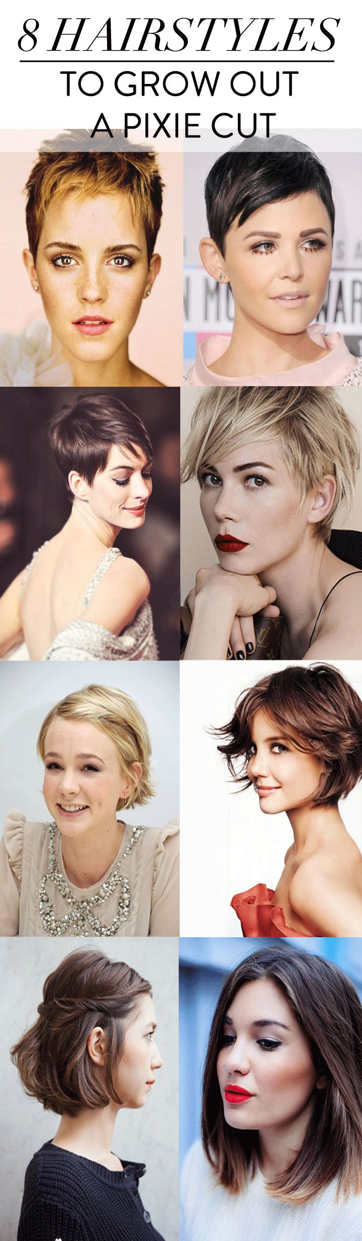 trying to grow hair out styles how to grow out a pixie cut h 229 r kort h 229 r og kort 7275