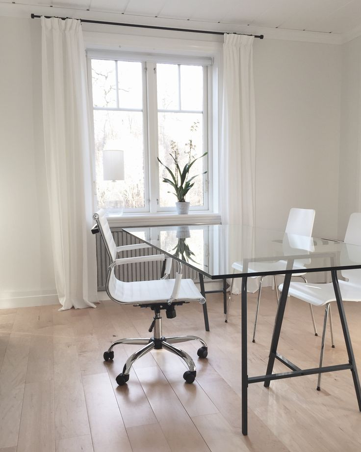 Desk and dining table, Scandinavian, Simple Living