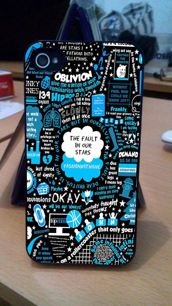 The Fault in Our Stars Case iPhone 3Gs/4/4s/5/5s/5c iPod by babahe, $13.90