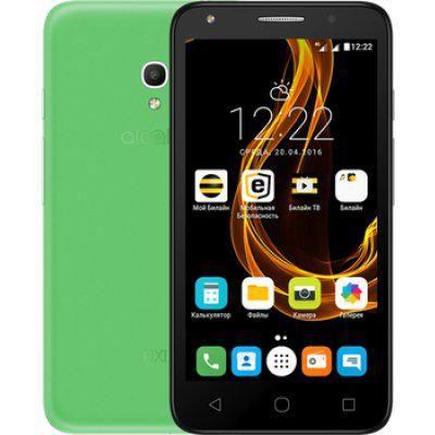 """Смартфон Alcatel Pixi 4 5045D зеленый (5045D-2MALRU1)  — 5516 руб. —  смартфон, Android 6.0 поддержка двух SIM-карт экран 5"""", разрешение 854x480 камера 8 МП, автофокус память 8 Гб, слот для карты памяти 3G, 4G LTE, Wi-Fi, Bluetooth, GPS объем оперативной памяти 1 Гб аккумулятор 2000 мА/ч вес 169 г, ШxВxТ 72.50x140.70x9.50 мм"""
