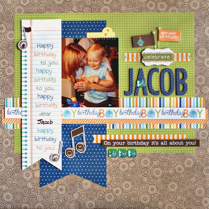 394 Best Scrapbook Page Layouts Images On Pinterest