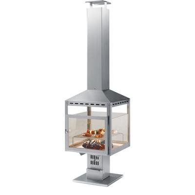 Heibi Stainless Steel Charcoal BBQ Chimney Fuoco 51214–072