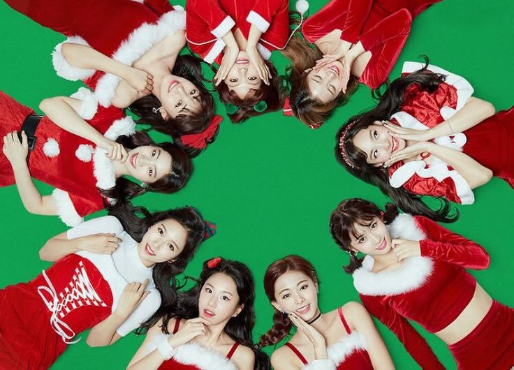 TWICE- it's the most wonderful time of the yeaaaarrr