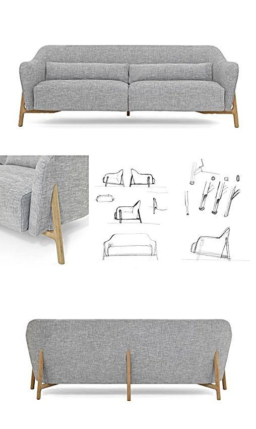 Quasi Modo Modern Furniture › De Padova Sofa Pilotis