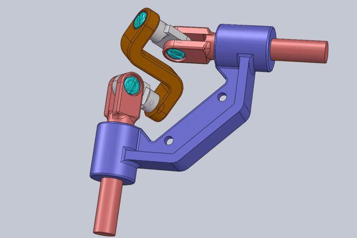 90 Degrees Uniform Motion Transmitter - STEP / IGES,SOLIDWORKS - 3D CAD model - GrabCAD