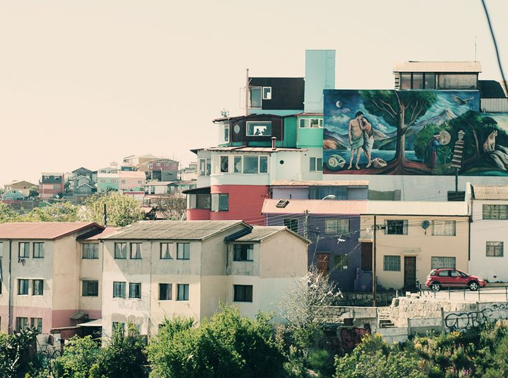 Valparaiso, Chile. #houses #travel #art