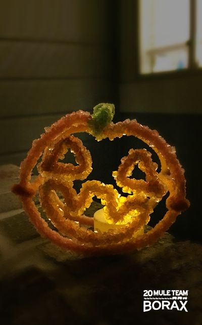 Check out this spooky 20 Mule Team Borax Halloween craft you can do with your kids.