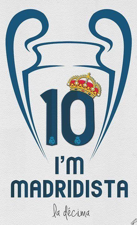 Una forma de Ser Hala Madrid!  11 veces Campeones de Europa!  #Campeones #ChampionsLeague #HalaMadrid!
