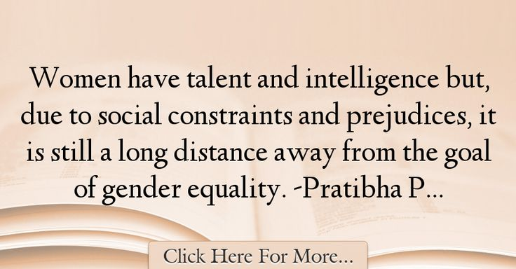 Pratibha Patil Quotes About Equality - 17272