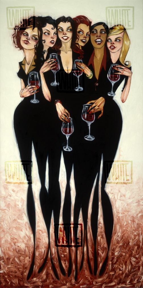 """Girl Party Reunion"" by Todd White  #art"