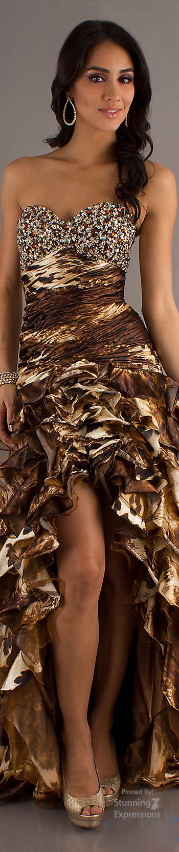 animalprint.quenalbertini: Animal Print and Gold Couture