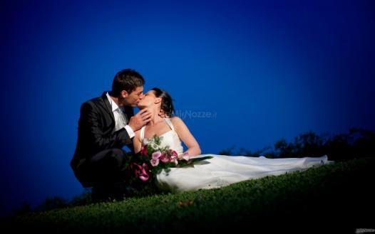 Romantica foto degli #sposi al tramonto
