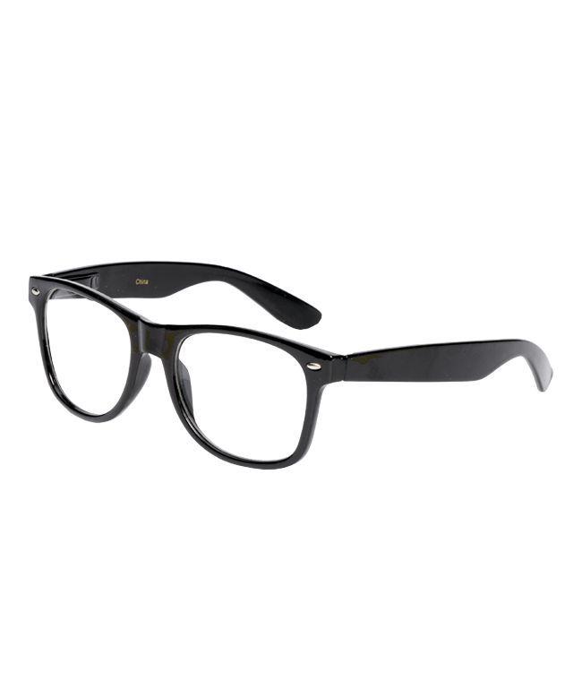 Jack Martin Frisky Business Black Frame Glasses