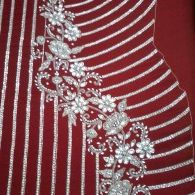 Embroidery Handwork Patch 1947