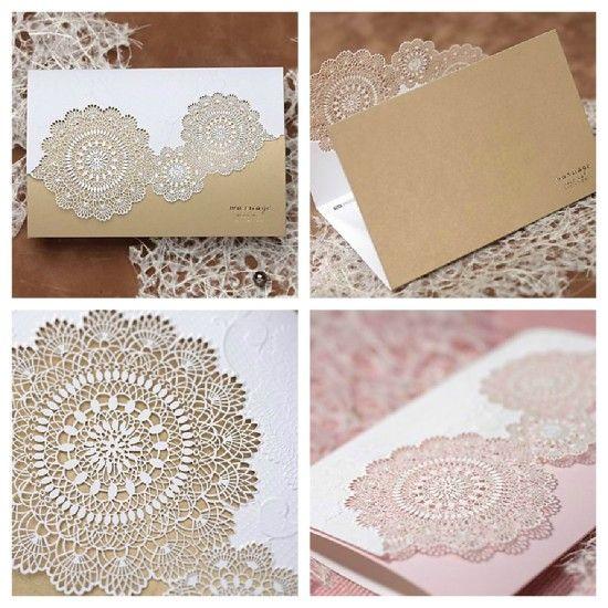 convites de casamento modelos elegante floral cut out lightinthebox