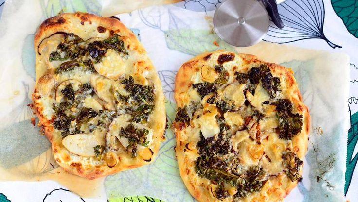 Lehtikaali-tattipizza