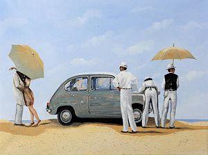 Painting - La Seicento by Guido Borelli
