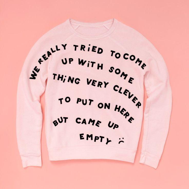 self-expression sweatshirt