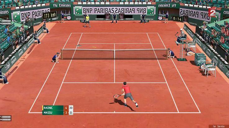 Raonic vs Massu! Ronde2 Roland Garros! TennisElbow2013 Épisode 15