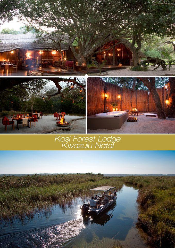 Kosi Forest Lodge, Kwazulu Natal