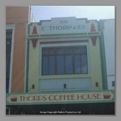 Coffee Shop  Art Deco  Napier