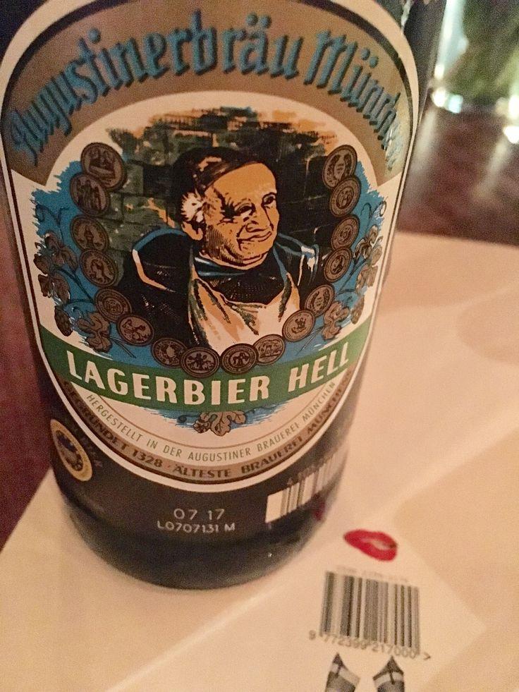 Augustiner Lagerbier Hell (BEST LAGER IN THE WORLD) #FavoriteBeers #summershandy #beers #footy #greatnight #beer #friends #craftbeer #sun #cheers #beach #BBQ
