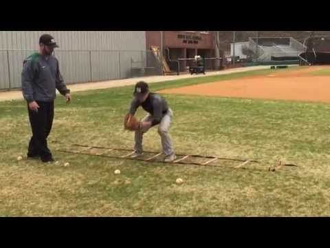 Top Infield Drill #1 - Fielding Position! - By Winning Baseball - YouTube