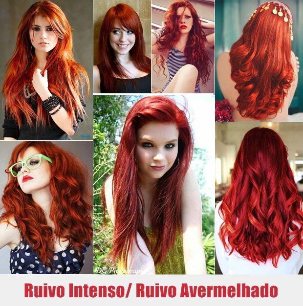 Muitas Feminices | Beleza Moda Maquiagem : Inspirações: Tonalidades de cabelos ruivos pra você escolher!