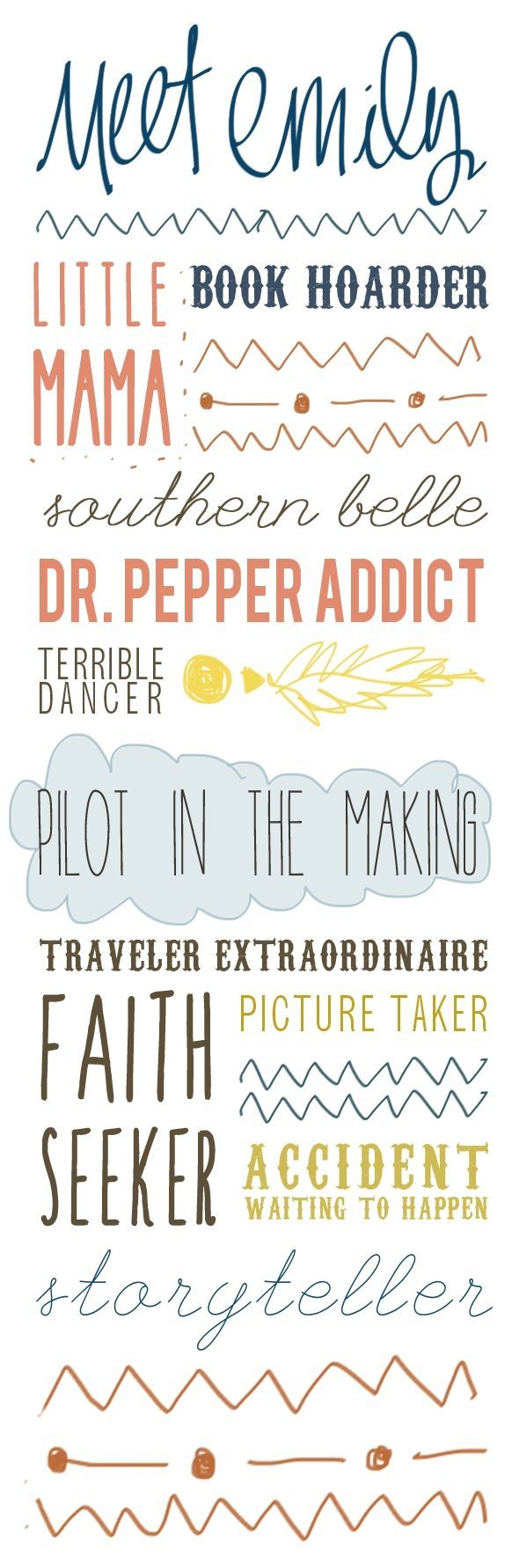 Fun fonts by KMI