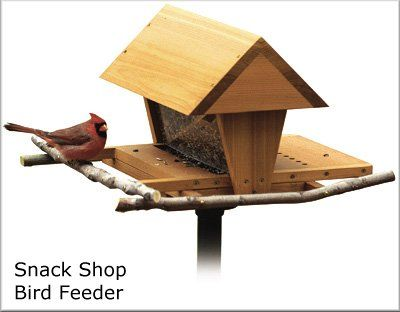 Hopper Feeders are usually convenient since you only have to lift the lid and pour in the food. They may generally hold more than one days worth of food.