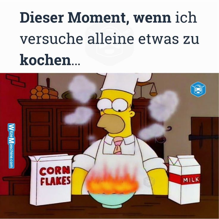 Dieser Moment wenn Sprüche - Männer beim Kochen