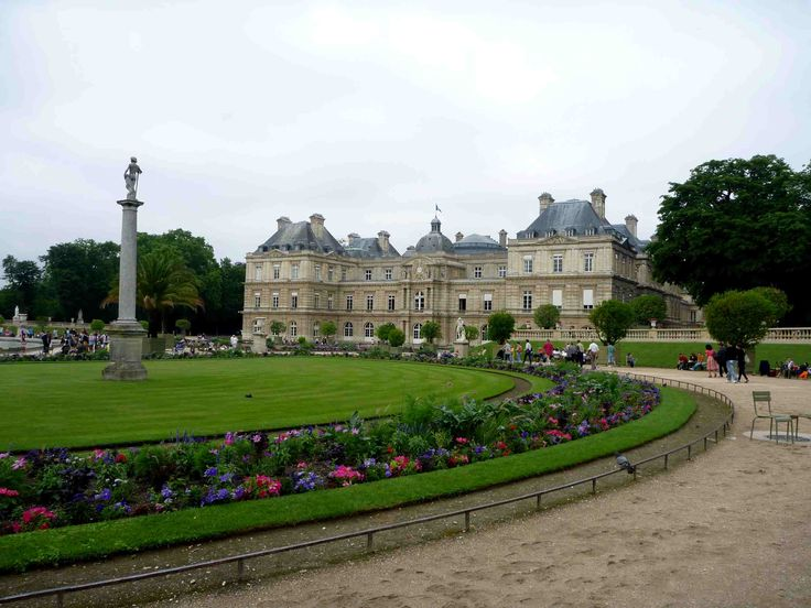 Luxemburg Palace Gardens Paris France Barocco