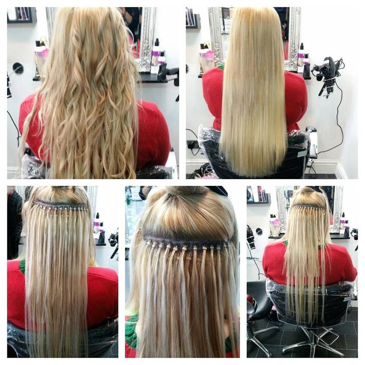 Beautiful 20 inch Micro Ring Hair Extensions x Hair