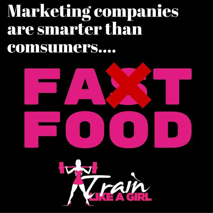 Time to stop sugar coating it! #healthyeating #fastfood