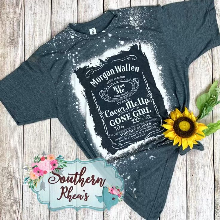 Morgan Wallen Shirt Bleached Shirt Country Music Concert Etsy Video Video In 2020 Southern Shirts Concert Shirts Festival Outfit