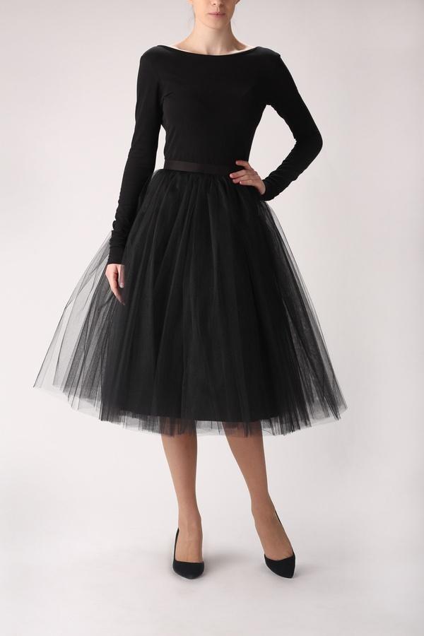 Tulle skirt long, tulle skirt, tutu skirt - Fanfaronada - Petticoats & tutu's - Rokken - DaWanda