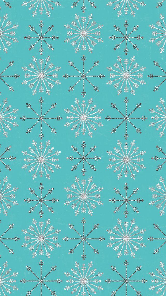 iPhone 5 wallpaper #snowflakes