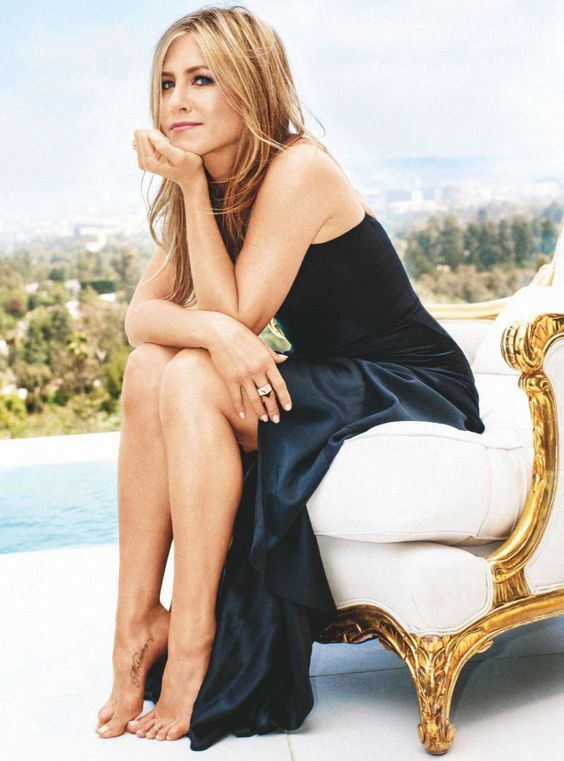 Jennifer Aniston for Marie Claire Australia January 2015: