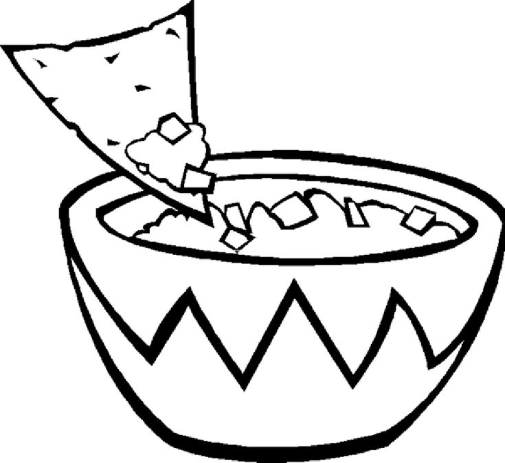 rice coloring pages for kids | 31 best food coloring pages images on Pinterest | Food ...