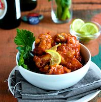 Sriracha Chicken Wings – Perfect party food for New Year's or any Eve