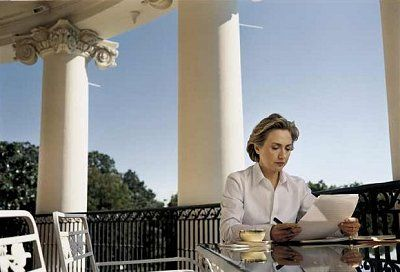 Annie Leibovitz Hillary Clinton Truman Balcony Pics