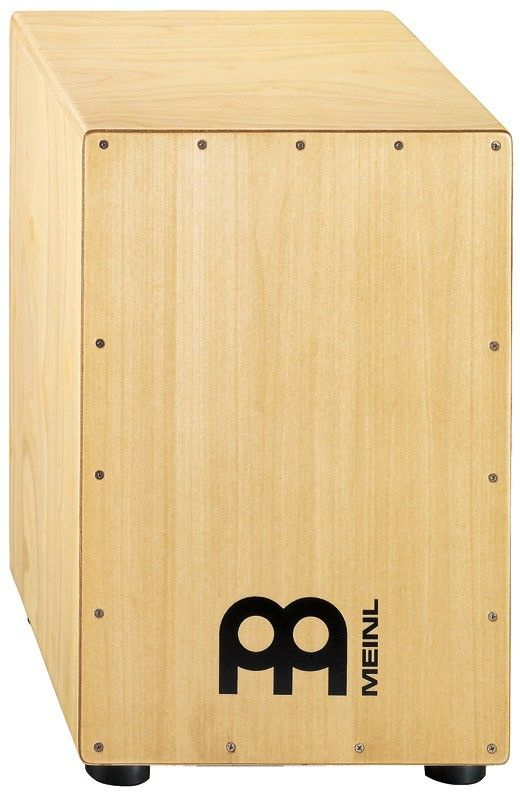 MEINL HCAJ1NT Headliner® Series Cajon  The MEINL HCAJ1NT Headliner® Series Cajon delivers the classic cajon sound at an affordable price and can be used in Flamenco or World Music. It's also very useful during unplugged gigs for delivering the rhythmic foundation for a whole band when a full drum set can't be used.