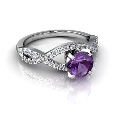 purple wedding ring 17 best ideas about purple engagement rings on 6921