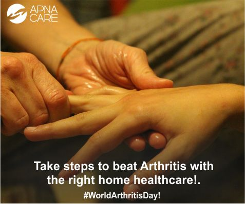 #WorldArthritisDay  World Arthritis Day is the perfect time to take concrete steps to ensure that your parents can deal with this condition. Read our tips on how you can help them manage the disease so that they can enjoy maximum mobility in their senior years. http://apnacare.in/world-arthritis-day-12th-oct-2016 Homecare services from ApnaCare can help patients and their families cope with the symptoms and challenges of the disease This magical kit helps you manage pain effectively…