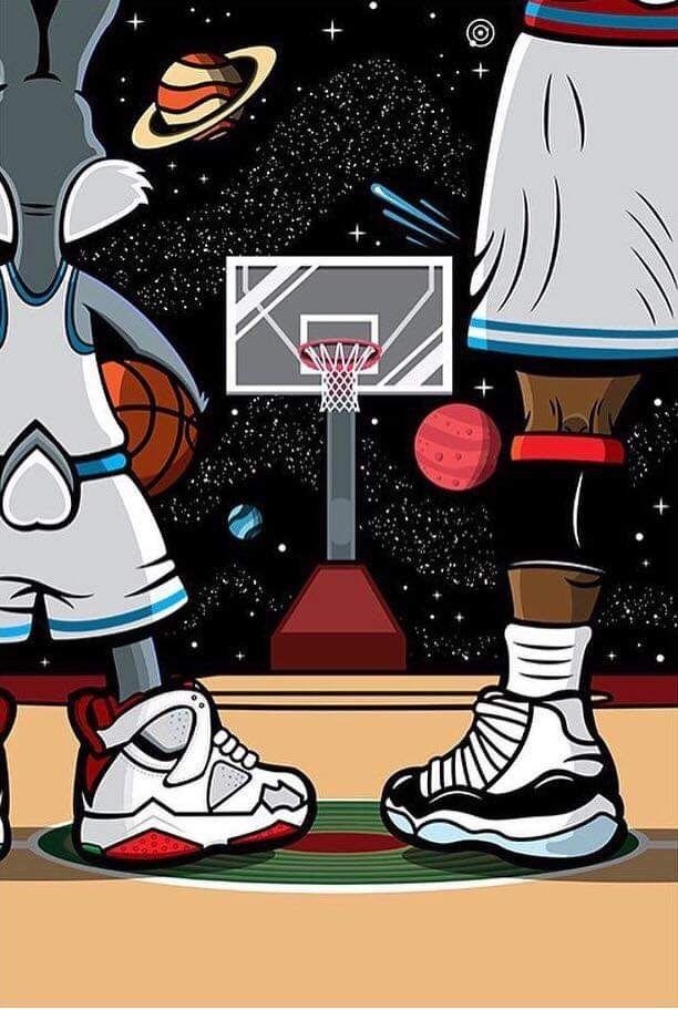 Pin By Luisinfante On Fondos De Pantalla Jordan Logo Wallpaper Cartoon Wallpaper Michael Jordan Art