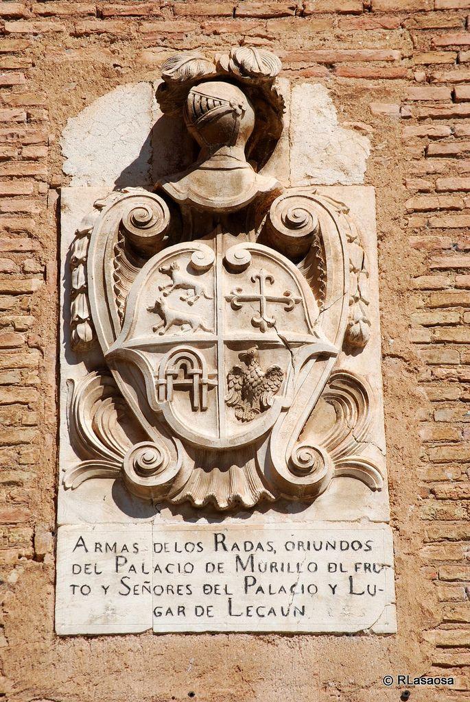 Armas de [los] la familia Rada. Los Arcos, Navarra