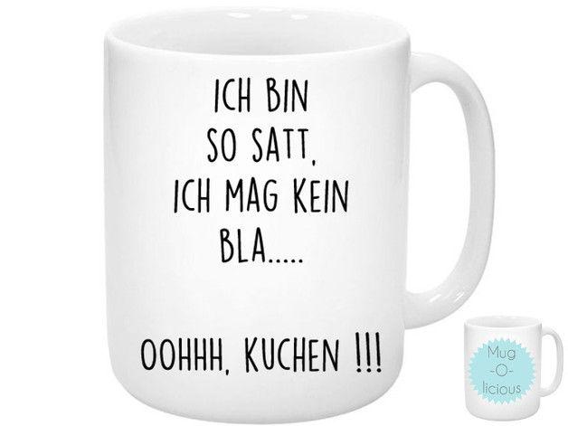 **Tasse mit Spruch als Geschenk oder zum selber behalten.** Ob Kaffee, Kakao oder Tee, sie werden ihre Freude an der Tasse haben! Die Tasse ist auf beiden Seiten...