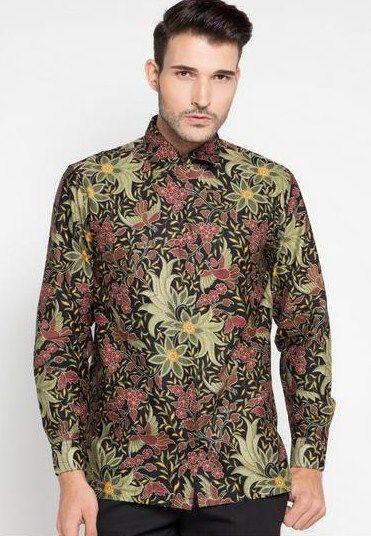 Contoh model baju batik pria